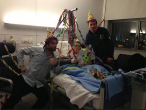 Stefan Bradl spent his birthday in hospital having surgery