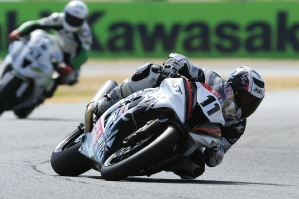 Kyle Smith in action in last seasons Superstock