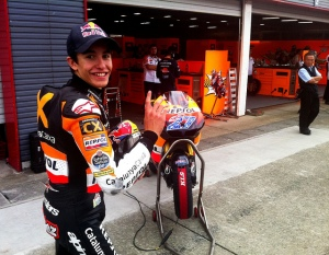 Everybody is eager to see how the young Spaniard's fares in MotoGP, bar his predecessor.