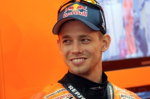 Casey Stoner retired to get out of the media spot light, but he can't help himself.