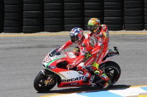 Rossi declined rumours he advised Ducati who to sign for 2013.