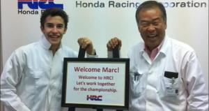 Marc Marquez and Sheui Nakamoto are hoping