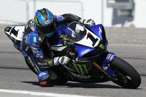 Monster Graves' Josh Hayes and his Yamaha R1 will be in California over the weekend