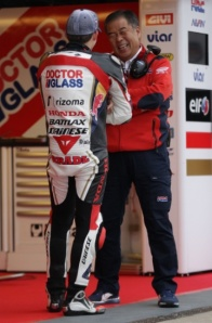 Nakamoto is happy with his rider, but also expected hoped for more.