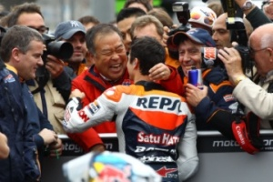 Nakamoto cites Brno as a turning point in Pedrosa's career.