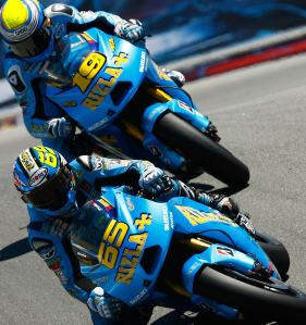 The last time we saw two Suzuki's in MotoGP was in 2010.