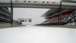 Mugello is the snow.