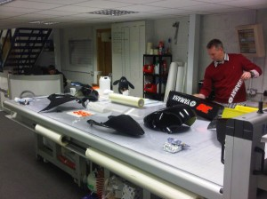 Bradders took to twitter to show his fans some of his new fairings.