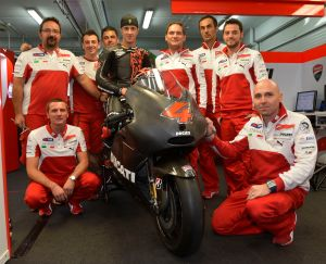 Dovi will have to wait till the end of Feb to get his first ride on the GP13.