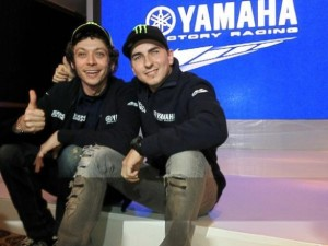 """The """"Yamaha Factory Racing Super Team!"""" as they have been dubbed in Asia."""