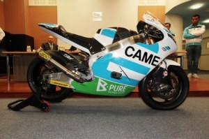 The 2013 Suter-BMW that Petrucci and Pesek will be using.