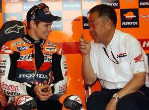 Could Nakamoto convince Stoner to wildcard in the World SBK series?
