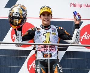 2012 Moto2 World champion Marc Marquez will be