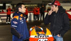Both Dani Pedrosa and Marc Marquez will be on hand to reveal their 2013 bikes.