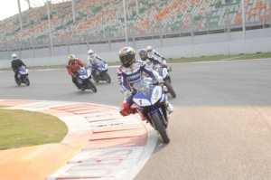 Jorge Lorenzo's exhibition laps may remain the only two wheeled laps of the Indian Circuit.
