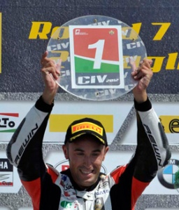 Double CIV Champion Matteo Baiocco will be in BSB on a Panigale next season.