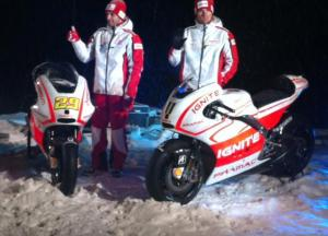 And the satellite bikes of Andrea Iannone and Ben Spies.