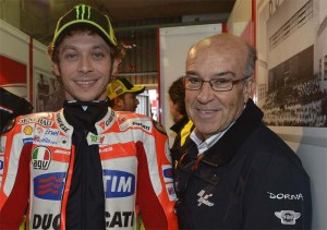 Ezpeleta thinks Rossi will be back on the top step of the podium this season.