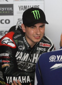 Jorge Lorenzo let it slip that they aren't currently using one.