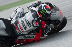 Jorge Lorenzo was fastest during the second days testing in Kuala Lumpur.