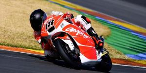 Nico Terol was fastest on his Aspar machine on day one in Valencia.