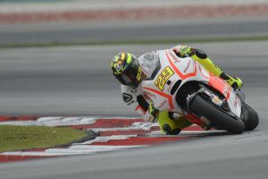 Iannone has been getting as much practice in as possible on his new Ducati.