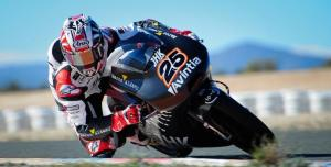 Maverick Vinales was quickest once again in Almeria