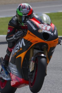 Claudio Corti is about to embark on his first season in MotoGP.