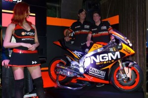 Cuzari was speaking at the launch of the 2013 NGM Forward Racing machines in Milan.