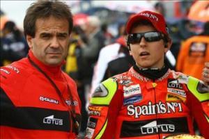Amatrain and Lorenzo in 2008.