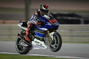 The world champion is in good form in Qatar.