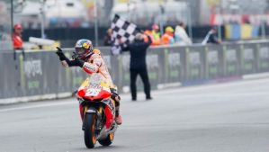 Dani Pedrosa makes it two from two in Le Mans.