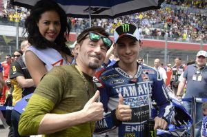 Max Biaggi will be on track with his good friend Jorge Lorenzo in Barcelona.