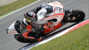 Biaggi's first day on the Ducati was cut short due to bad weather in Mugello.