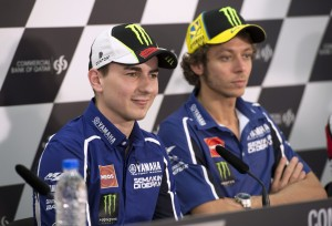 Lorenzo has had the upper hand on his experinced team-mate.
