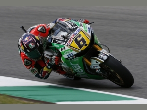 Bradl was the fastest man on the first day in Argentina aboard his LCR Honda.