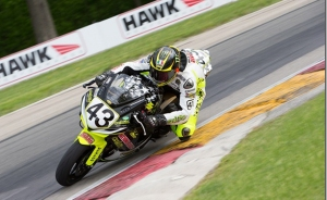 Rispoli is currently fifth in his debut season of AMA superbikes.