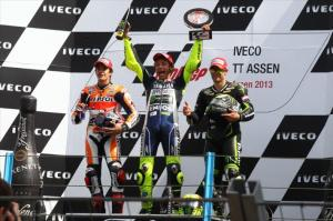 Rossi's win and Crutchlow's victory chances have seen a MotoGP boom.