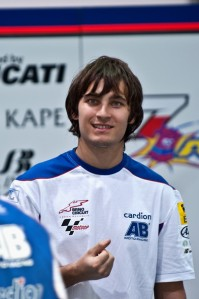 Karel Abraham will be using one of the new Honda Production racers next season.