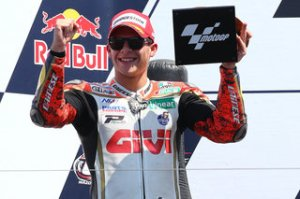 Bradl's impresive form has seen him rewarded with a new contract at LCR.