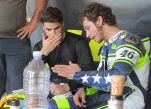 Could Rossi be helping Fenati even more next season?